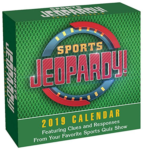 Price comparison product image Sports Jeopardy! 2019 Day-to-Day Calendar