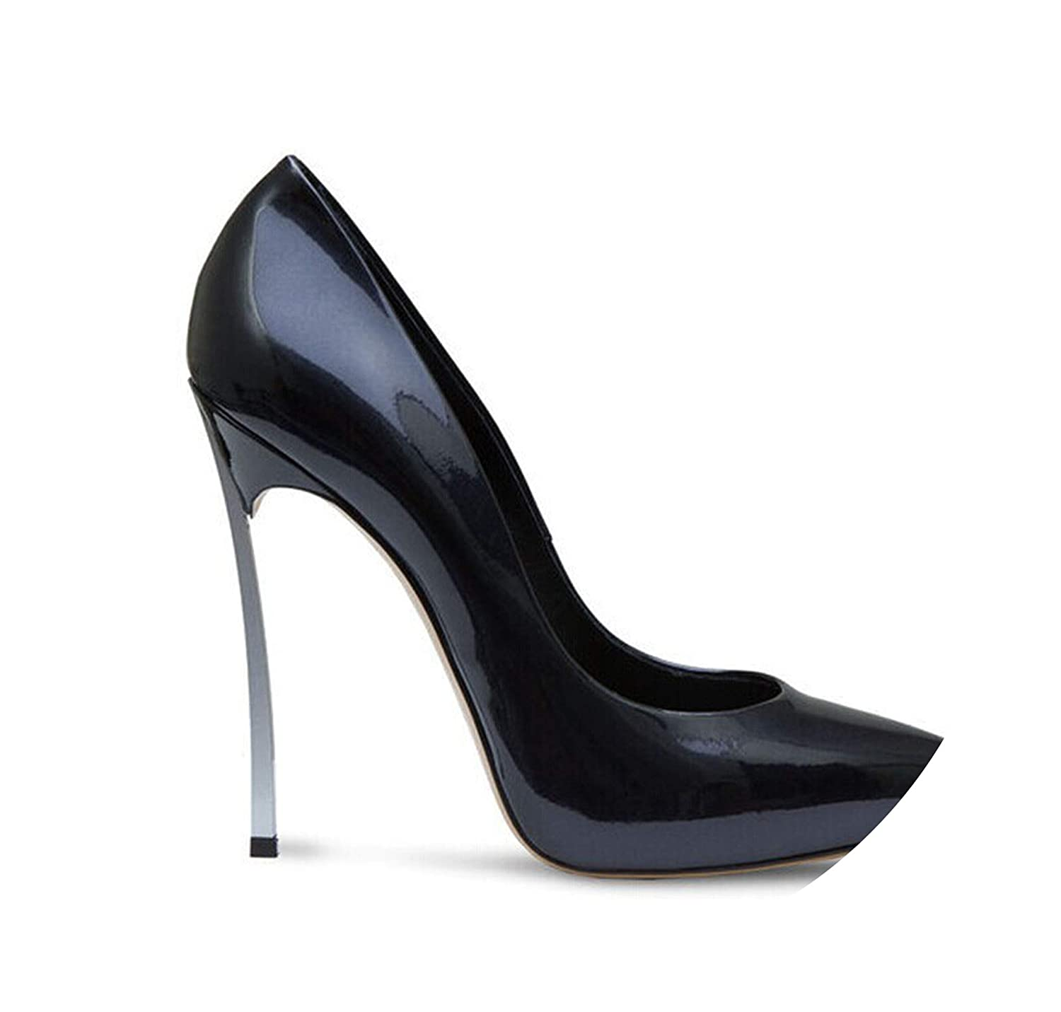 Patent black RAINIE002 Brand shoes Woman High Heels Women Pumps Stiletto Thin Heel Women's shoes Nude Pointed Toe High Heels Wedding shoes Size 33-43