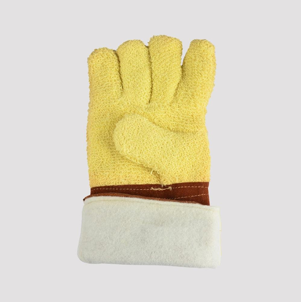 Thickening factory operations dedicated anti-high temperature anti-cutting insulation anti-tear protection labor insurance gloves by LIXIANG (Image #2)