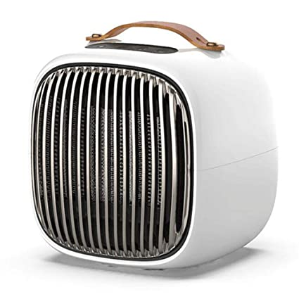 Space Heater Small Portable Electric Heater, Winter Personal Smart Space  Heater for Bedroom Home Office, White 1000W