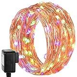 200 LED String Lights, DecorNova Starry Lights with UL Certified 3V Power ...