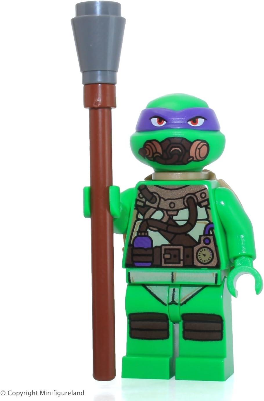 LEGO TMNT Teenage Mutant Ninja Turtles Minifigure - Donatello (in Scuba Gear) 79121