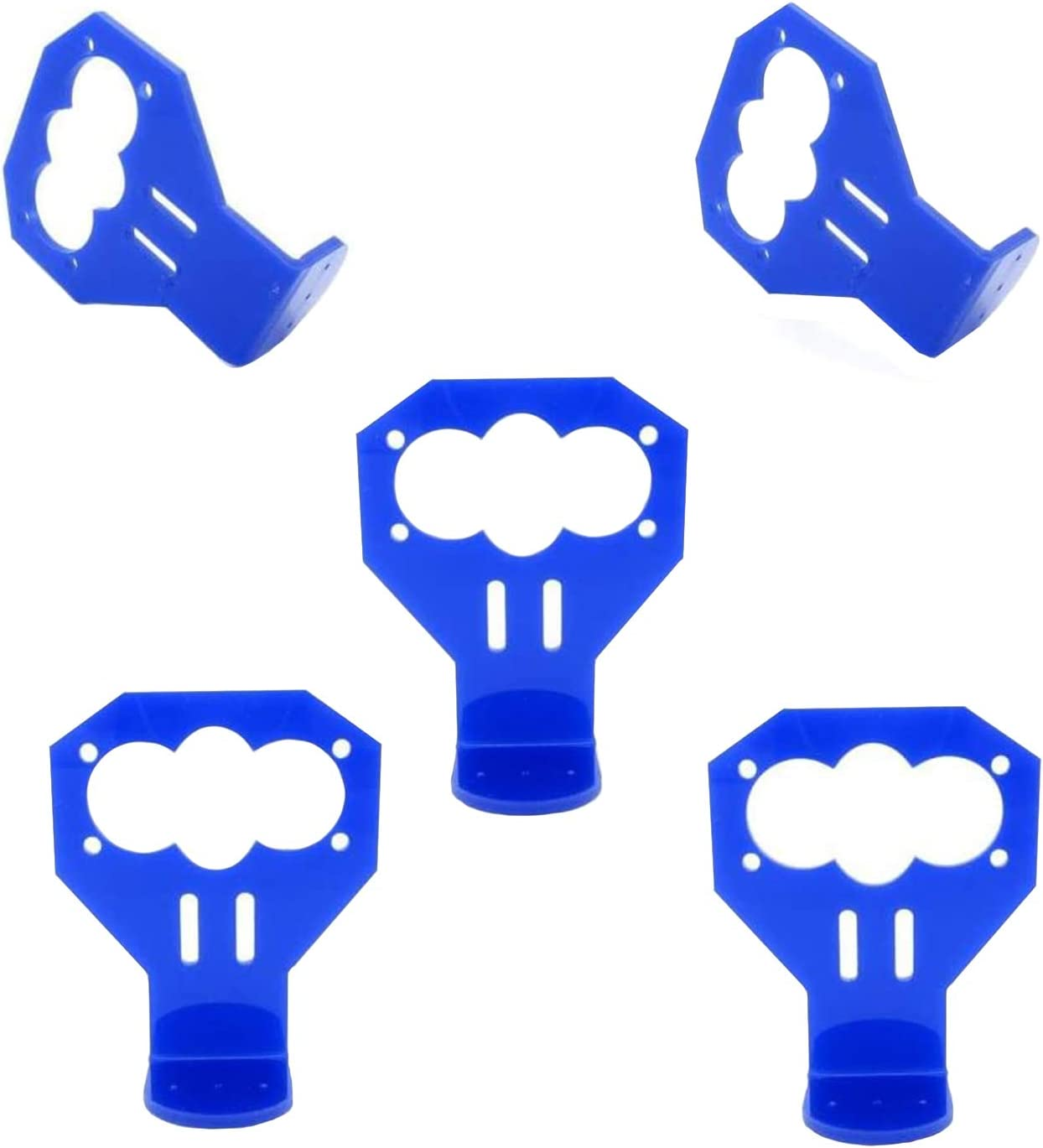 ZHITING 5 Piezas Kit de Soporte de Montaje de Sensor de Distancia ultras/ónico de Dibujos Animados Azul HC-SR04
