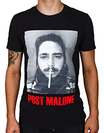 64202ba2 Ulterior Clothing Post Malone Cigarette T-Shirt 21 Savage White Iverson:  Amazon.co.uk: Clothing