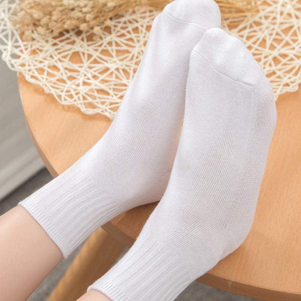 YXBDLX 5 pares de algodón puro blanco desodorante sudor niños ...