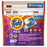 Tide PODS 3 in 1 HE Turbo Laundry Detergent Pacs, Spring Meadow Scent, 14 Count Bag