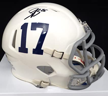 6dac5c58e Saquon Barkley Autographed Penn State Nittany Lions Speed Mini Helmet  Beckett BAS