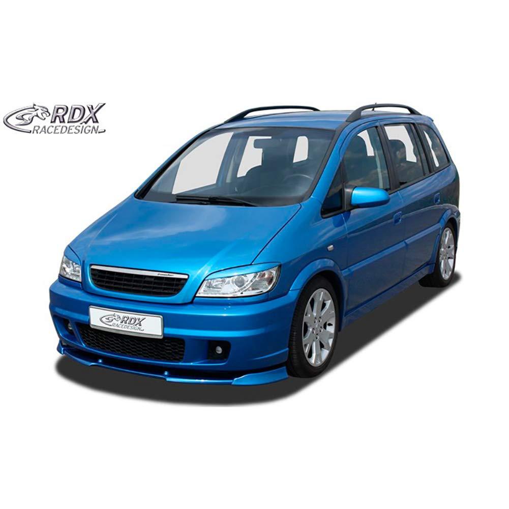 RDX Front Spoiler VARIO-X Zafira A OPC for OPC Frontbumper Front Lip Splitter