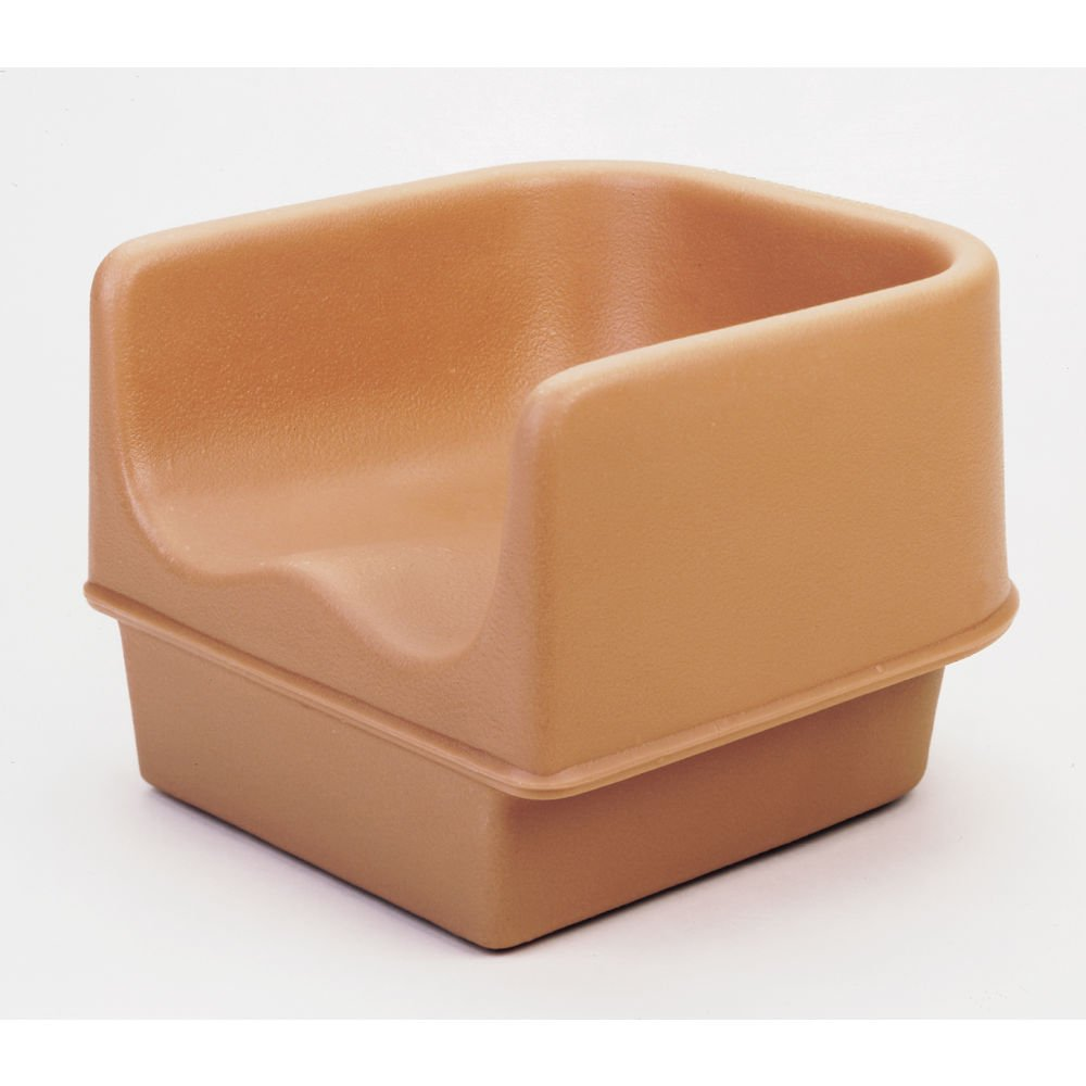 Booster Seat, Single Height, Polyethylene, (Must Order In Multiples Of 4 Ea.), Coffee Beige (4 Pieces/Unit)