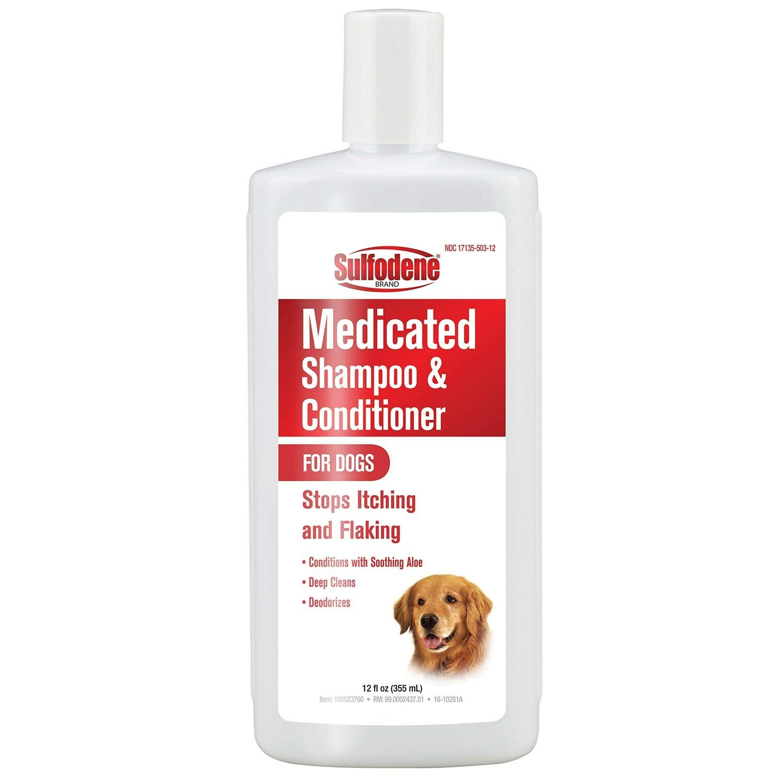 Sulfodene Medicated Shampoo & Conditioner for Dogs 12oz