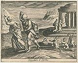 Deucalion and Pyrrha original antique c.1690