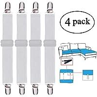 Bretelles de Support ISOTO Attaches de Drap-Housse 3 Voies /élastiques pour Drap-Housse 6 c/ôt/és r/églables Clip de Drap-Housse