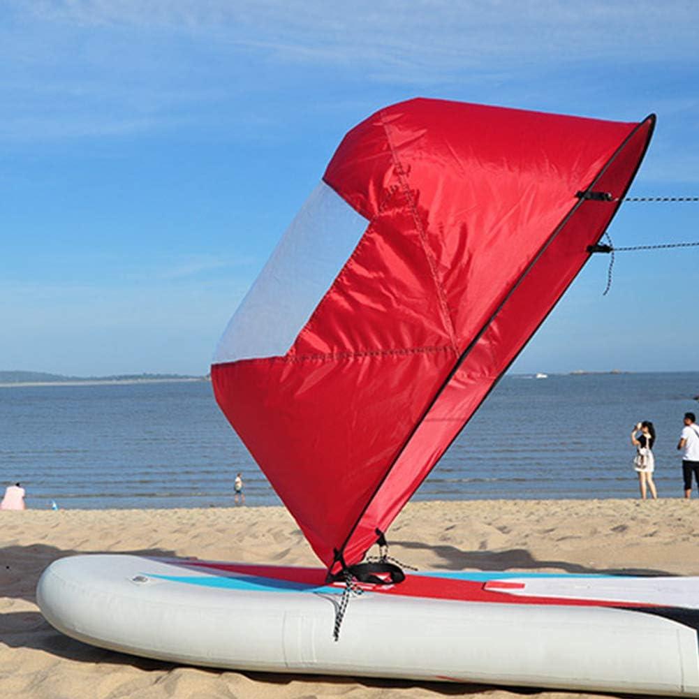 Kajak Boot Wind Segel Sup Paddle Board Segeln Kanu Ruderboote Wind Window/_DVECRD