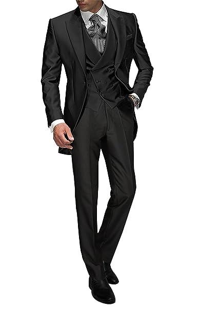 Amazon.com: El peachess a medida para hombre 3 piezas traje ...