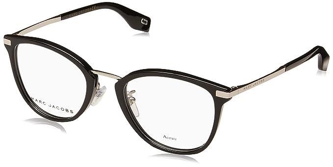 97a4099ca7 Marc Jacobs - Monture de lunettes - Femme Noir Noir/argenté 50 ...