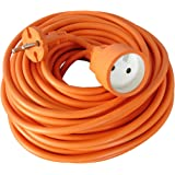 Zenitech - Prolongateur 16A HO5VV-F 2x1,5 Orange 25m