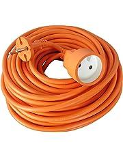 Zenitech - Prolongateur 16A HO5VV-F 2x1,5 Orange 25m