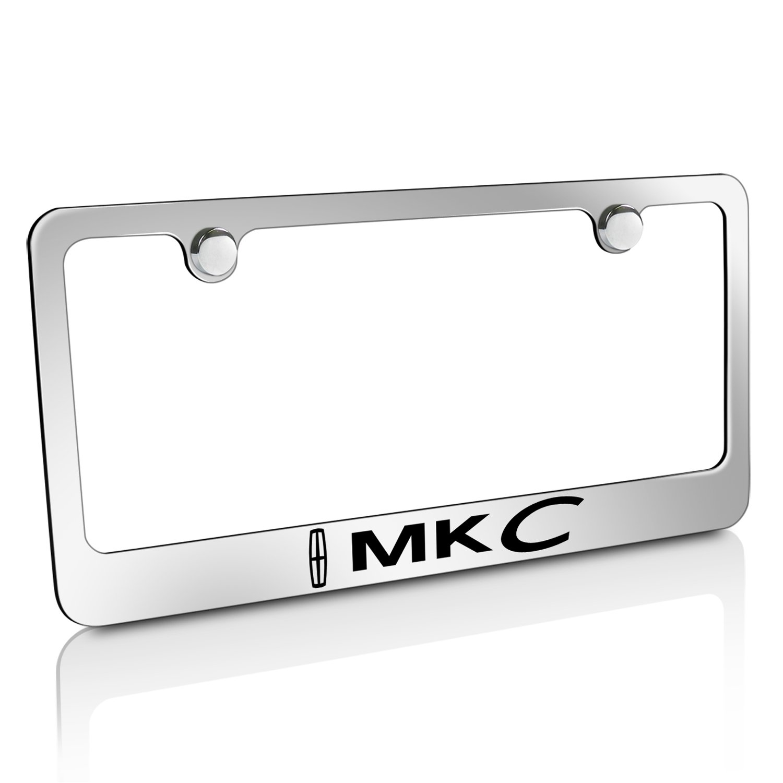 Amazon.com: Lincoln MKC Chrome Metal License Plate Frame: Automotive
