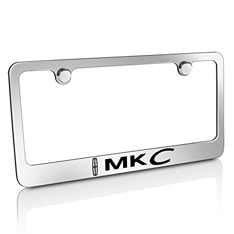 Amazon.com: Lincoln MKC Chrome Metal License Plate Frame: Automotive