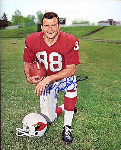 (Sonny Randle Autographed/ Original Signed 8x10 Photo w/ the St. Louis Cardinals)
