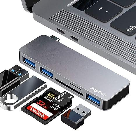 Amazon.com: Hub tipo C, adaptador USB C con 3 puertos USB ...