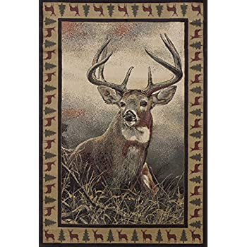 Deer Area Rugs Home Decor
