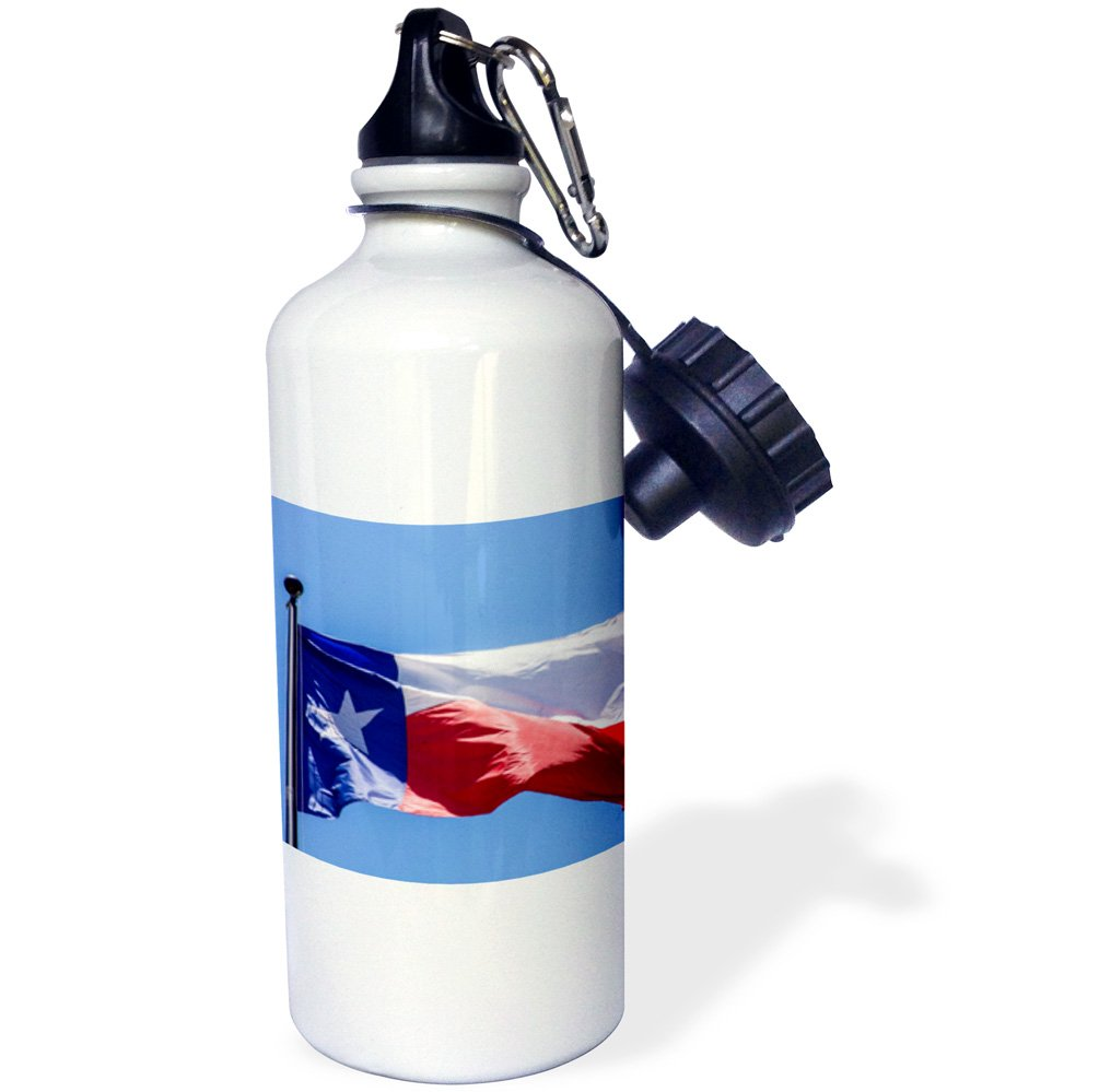 wb/_207169/_1 Texas Austin 21 oz Multicolor USA-Sports Water Bottle 3dRose Flag at The Bob Bullock State History Museum 21oz