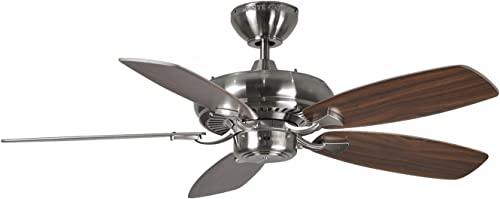 Monte Carlo 5DM44BS Ceiling Fans Designer Max II, 44 Blades, Walnut
