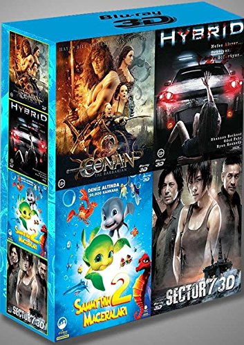 3D Blu-Ray Box Set (Conan - Sector 7 - Hybrid - Sammy 2)