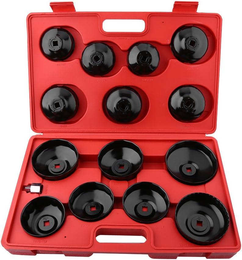/Ölfilterschl/üssel Werkzeug,15-tlg Universal /Ölfilterschl/üsselsatz zum Wechseln der /Ölfilterwerkzeuge