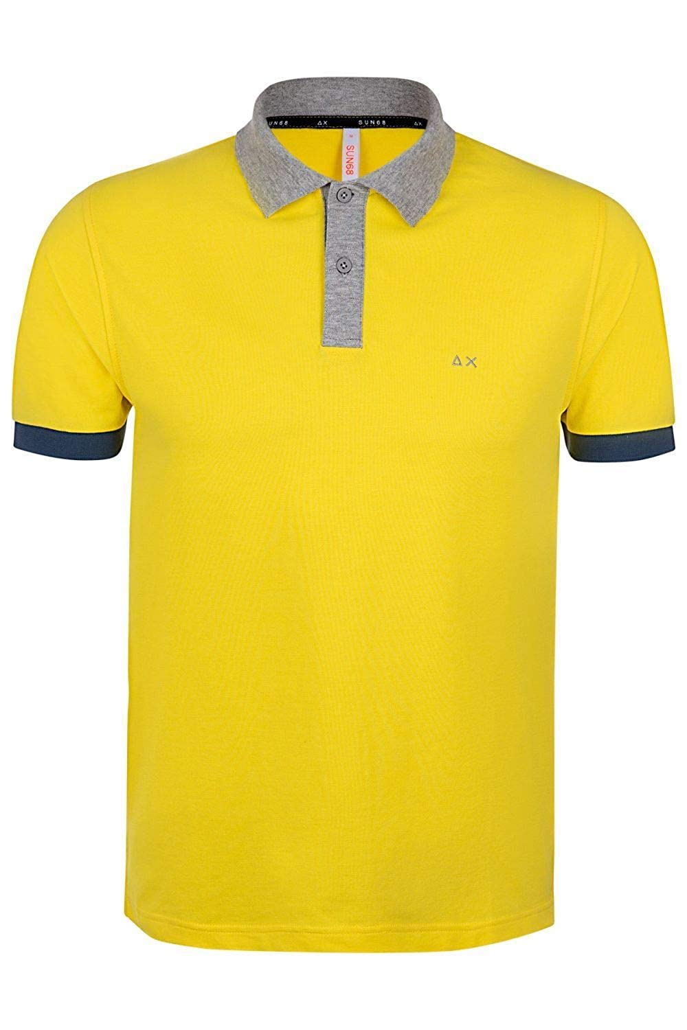 SUN 68 Luxury Fashion Hombre A1910823 Amarillo Polo | Temporada ...