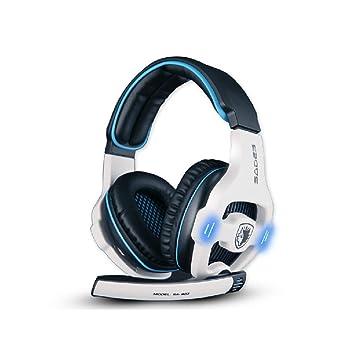 Sades sa903 7.1 USB Gaming de Auriculares con Sonido Envolvente/Sonido estéreo y Tarjeta de Sonido integrada