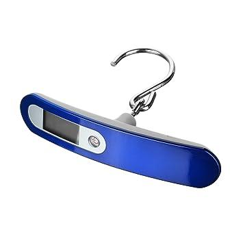 1.4 pulgadas LCD portátil equipaje escala Digital báscula para maletas pesos para viajes al aire libre casa: Amazon.es: Hogar