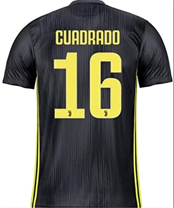 finest selection 95af5 fce8f Amazon.com: LISIMKE Soccer Team Juventus Away Juan Cuadrado ...
