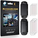 6 x (3 x Avant et 3 x Arrière) Membrane Films de protection ecran Sony PlayStation PS Vita Slim Touchpad (PCH-2000-Serie) - Ultra clair autocollants, avec kit d'installation