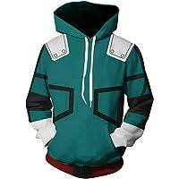 NoveltyBoy Boku No Hero Academia My Hero Academia Izuku Midoriya Hoodies Sweatshirt Cosplay Costume Battle Suit Jacket