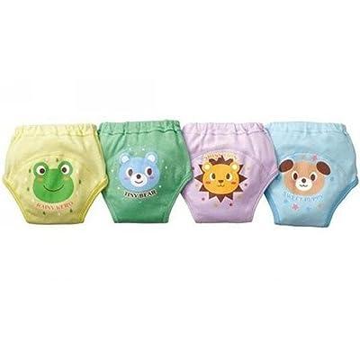 Jojobaby 4 X Baby Toddler Boys Cute 4 Layers Potty Training Pants Reusable