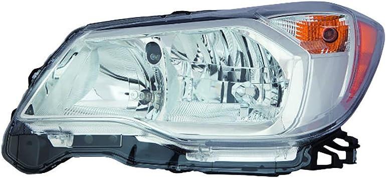 Halogen Headlight Assembly Left Driver Side for 14-16 Subaru Forester 2.0L
