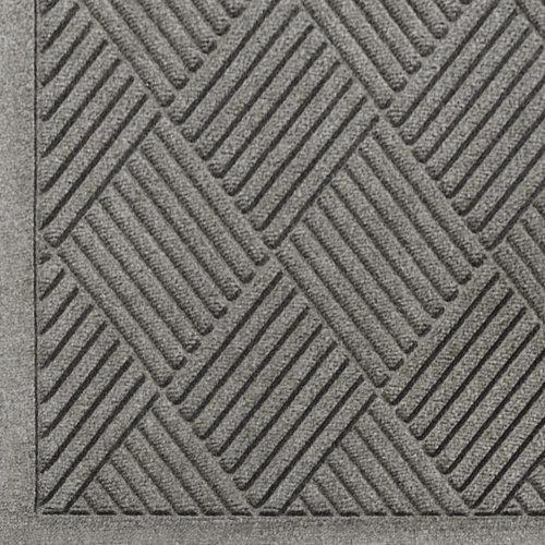 Andersen Waterhog Fashion Diamond - Alfombrilla de entrada de fibra de polipropileno para interior y exterior, respaldo de...
