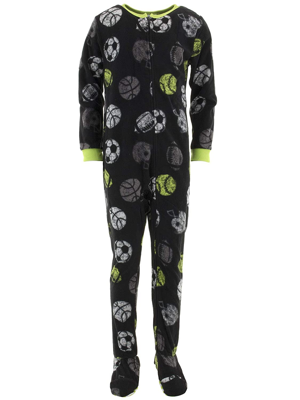 Komar Kids Boys' Big Multi Sport Blanket Sleeper