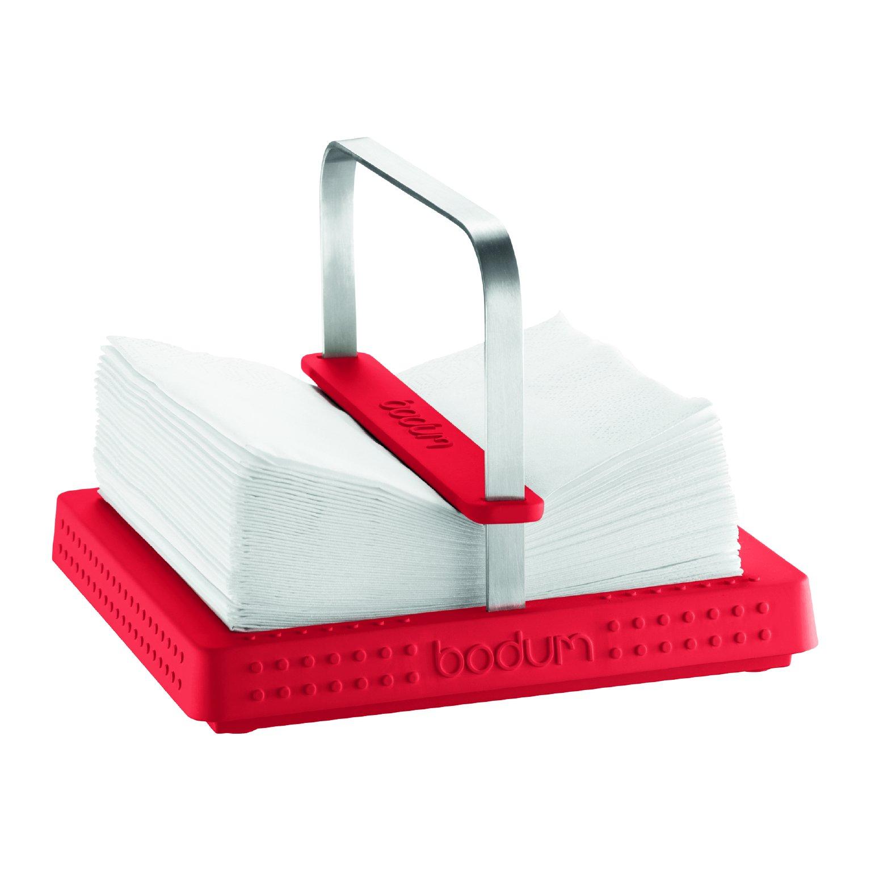 Bodum Bistro Red Napkin Holder by Bodum