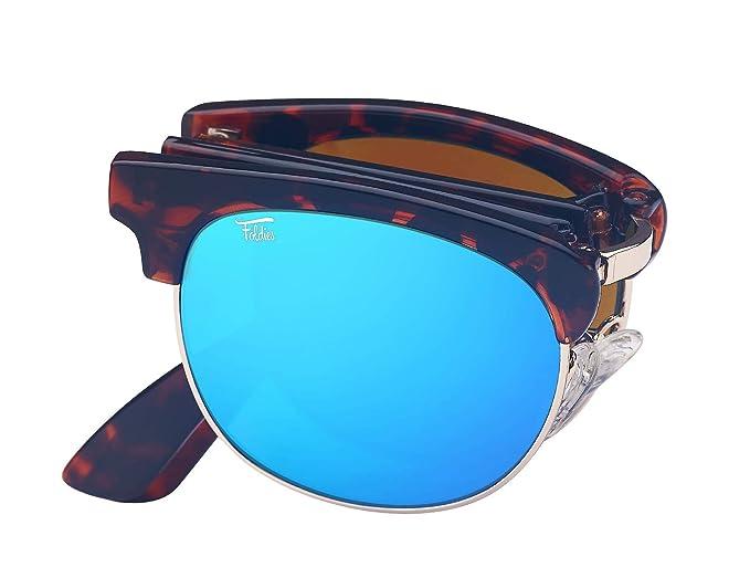 Foldies La concha plegables gafas de sol con lentes ...