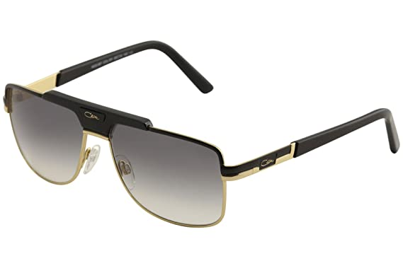 0d09194a650e Image Unavailable. Image not available for. Color  Cazal 987 Sunglasses  001SG Black-Gold Grey Gradient ...
