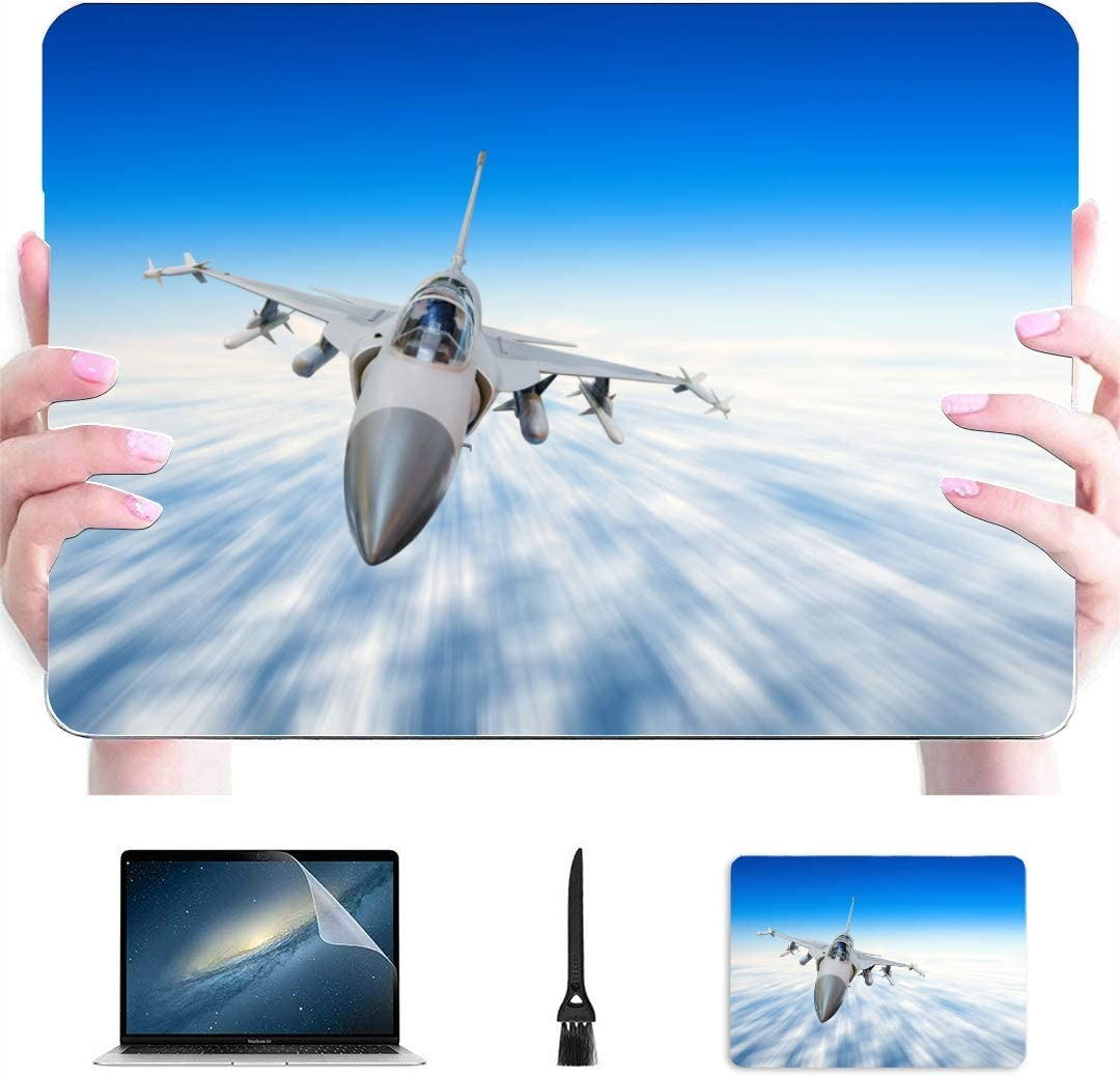 MacBook Case Aircraft Fighter Jets MacBook Air Hard Cover Multi-Color /& Size Choices/ 10//12//13//15//17 Inch Computer Tablet Briefcase Carrying Bag