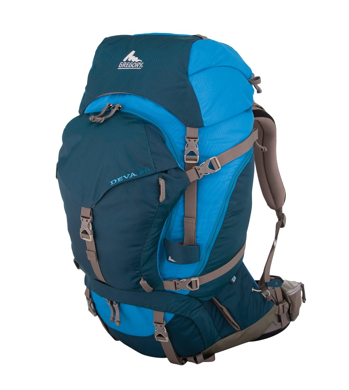 Amazon.com : Gregory Deva 60 Technical Pack, Bodega Blue, X-Small ...