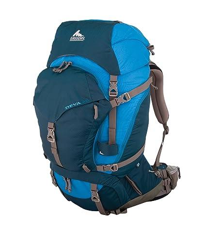 155152eba3a Amazon.com   Gregory Deva 60 Technical Pack, Bodega Blue, X-Small ...