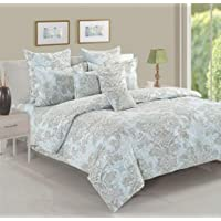 Swayam Veda Collection Fitted King Bedding Set, Multi-Colour, 180 x 200 x 40 cm, 12031KF