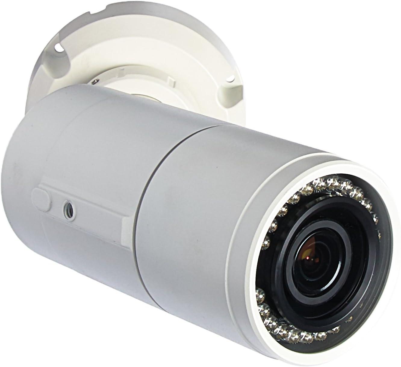 GeoVision GV-EBL2101 2MP H.264 Super Low Lux WDR IR Bullet IP Camera - 3-9mm P-Iris,White