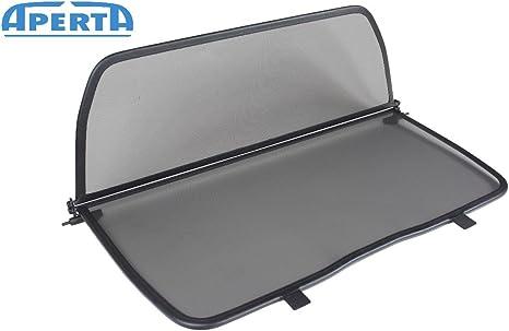 Aperta Filet Coupe-Vent Compatible avec Saab 9-3 Gris Filet Anti-remous 100/% sur Mesure OEM Qualit/é Windschott fabriqu/é aux Pays-Bas