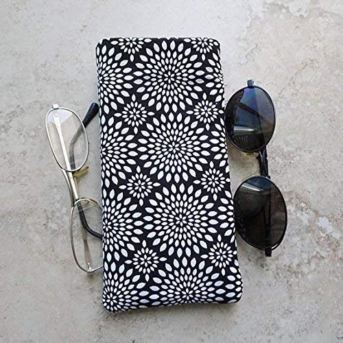 Double Eyeglass Case, Case for 2 Pairs of Glasses, Eyeglass Organizer Purse